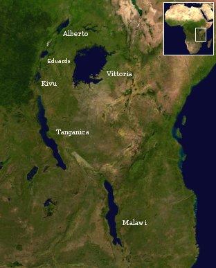 Grandi laghi africa orientale