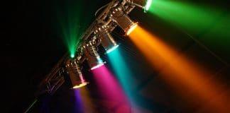 Luce lunare con LED direzionabili