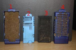 cestelli e materiale filtrante kompatto