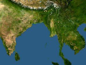 Colis lalia zone geografiche