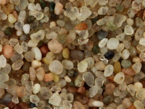Sabbia quarzifera - policromo