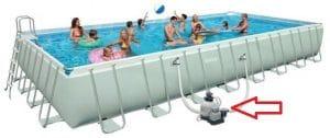 Filtro a sabbia per piscina