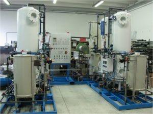 Foto di un impianto industriale