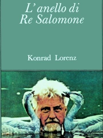 """Copertina del libro """"Anello Di Re Salomone"""""""