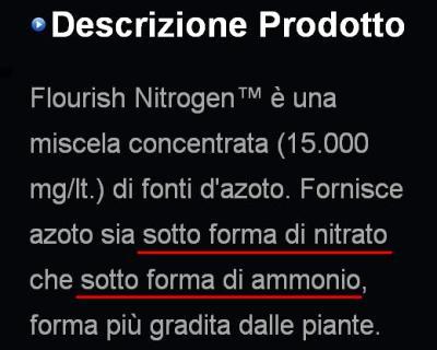 Descrizione Seachem azoto