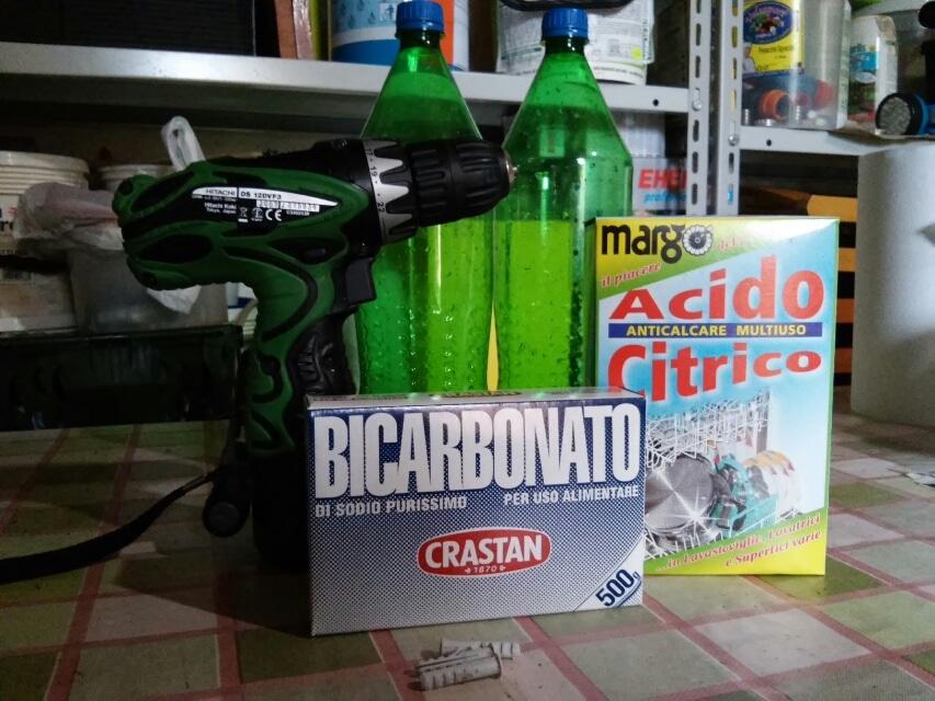 acido citrico e bicarbonato