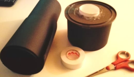 Schiuditoio Artemia salina: campana oscurata