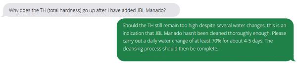 JBL FAQ Cambi