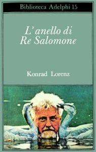 Copertina del libro di Konrad Lorenz «L'anello di re Salomone»