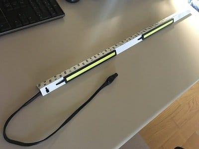 Luce aggiuntiva con LED COB