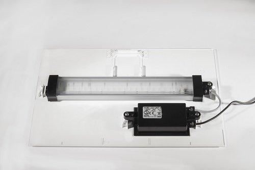 Nuovo coperchio con barra LED