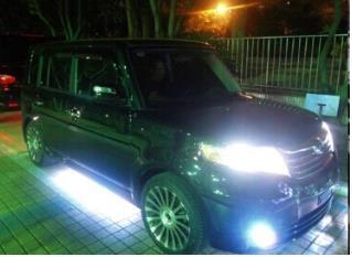 Auto con luci LED COB
