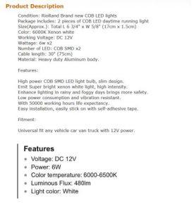 Descrizione LED per auto