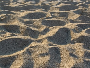 Sabbia di silice