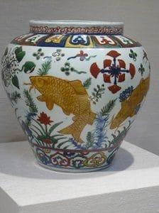 Vaso di porcellana dinastia Ming