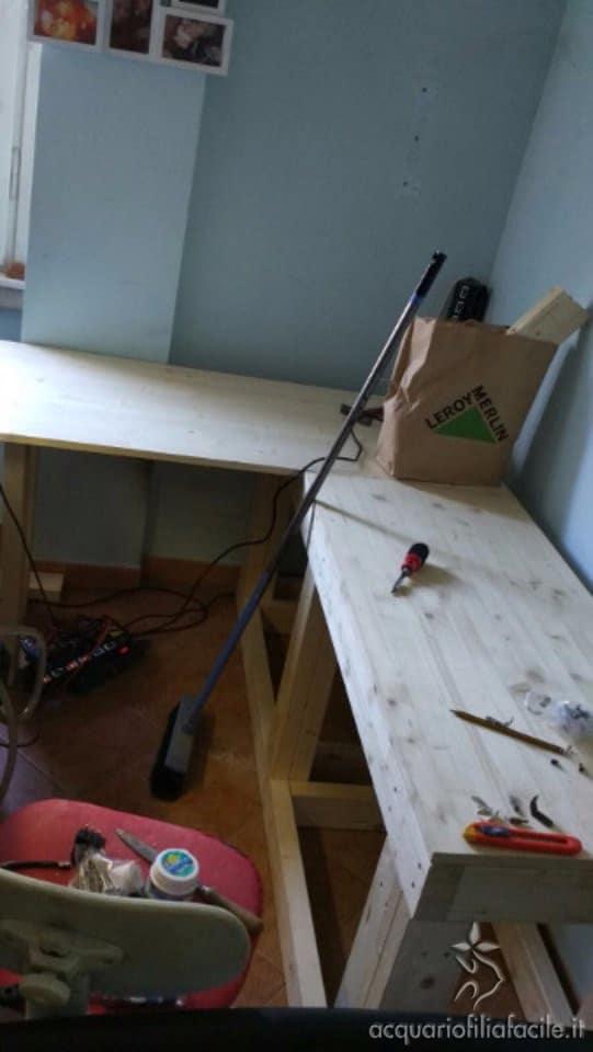 top scrivania acquario uniti