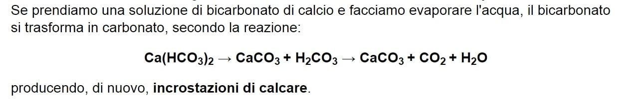 Carbonato e bicarbonato