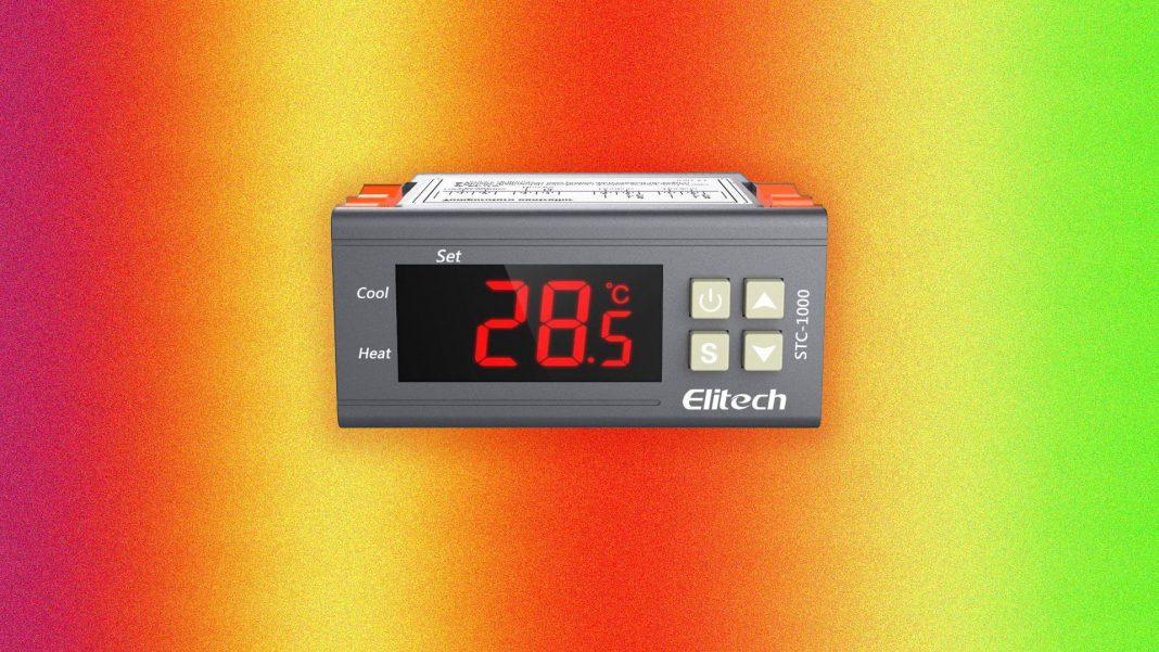 Centralina per il controllo della temperatura in acquario