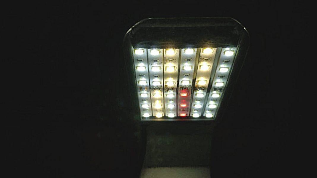 Costruzione di una lampada LED