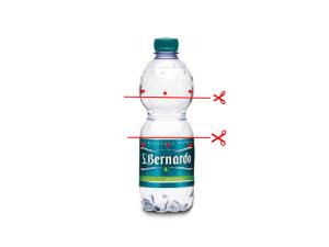 Bottiglia san bernardo tagliata