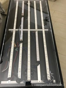 Plafoniera chiusa con plexiglass