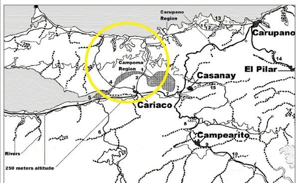 Regione di Cumana