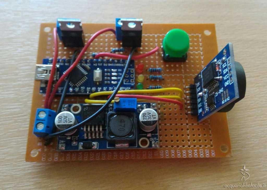 Centralina di controllo con Arduino