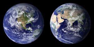 Terra dallo spazio