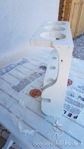 assi di legno dipinte
