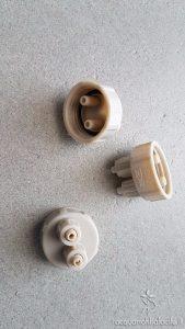 Tappi con connettore dei tubi