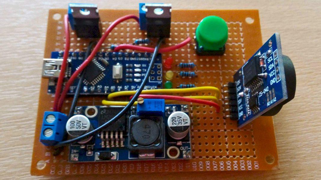 Centralina controllo LED con Arduino