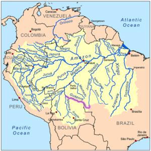 Zone di origine del ram boliviano