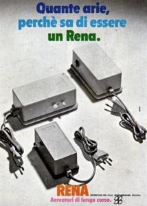 Uno dei primi aereatori usati nella storia dell'acquariofilia: l'aereatore Rena