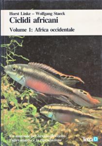 Copertina del libro «Ciclidi africani» di Horst Linke e Wolfgang Staeck