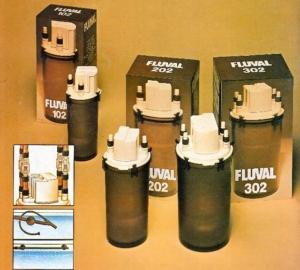 I filtri Fluval, molto diffusi in acquariofilia negli anni 70