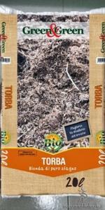 Fondo per i Grindal worms - Torba di sfagno e terriccio
