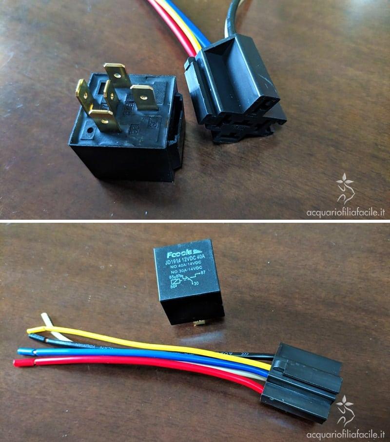 Relè per il controllo dei sensori di livello per il rabbocco automatico